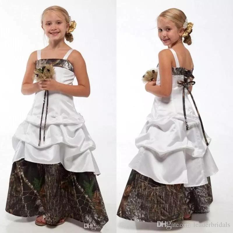 Flower Girl Dress Kid Jr Bridesmaid Birthday Wedding Formal Party Princess Dress