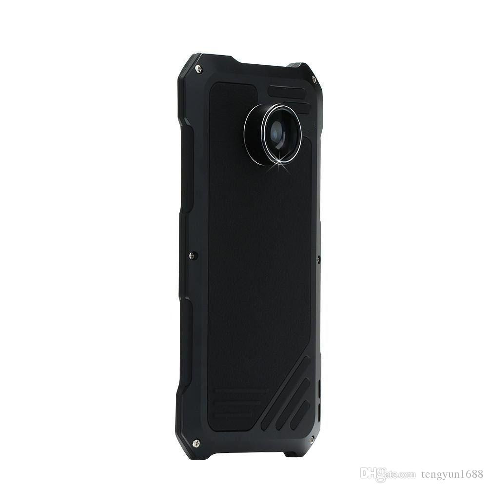 For Samsung S7 Phone Case Screen Protector Shockproof Waterproof High Impact Aluminum Alloy Case With 3 Separated Camera Lens Kit