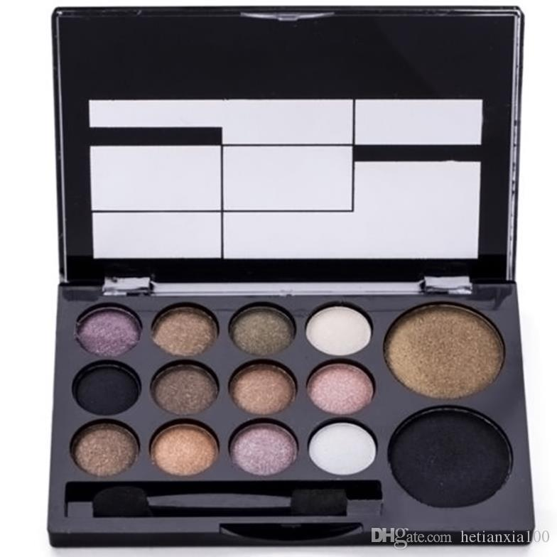 Professional Makeup 1 Set 14 Color Eye Shadow Palette Neutral Nude Comestic Eyeshadow
