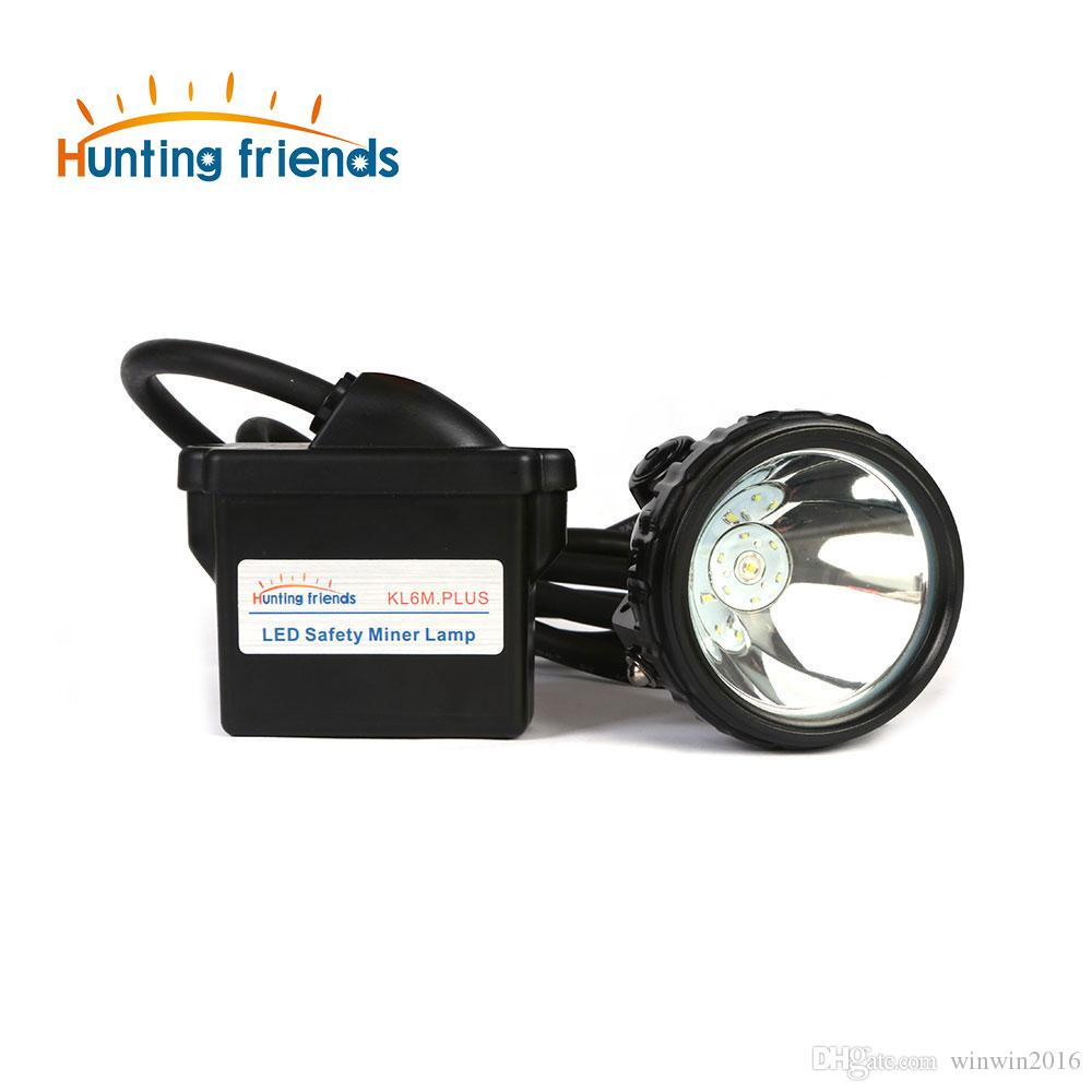 Lithium Battery Safety Miner Lamp KL6M.Plus Rechargeable Headlamp 1+6 LED Mining Cap Lamp Explosion Rroof Headlight