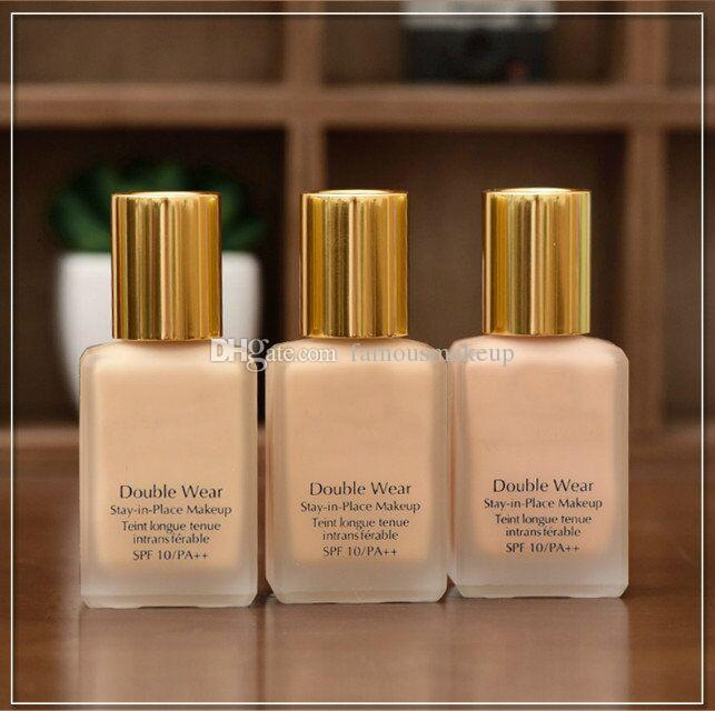2019 New Makeup Double Wear Foundation 30ml 2colors to choose top quality with best price fast free shipping