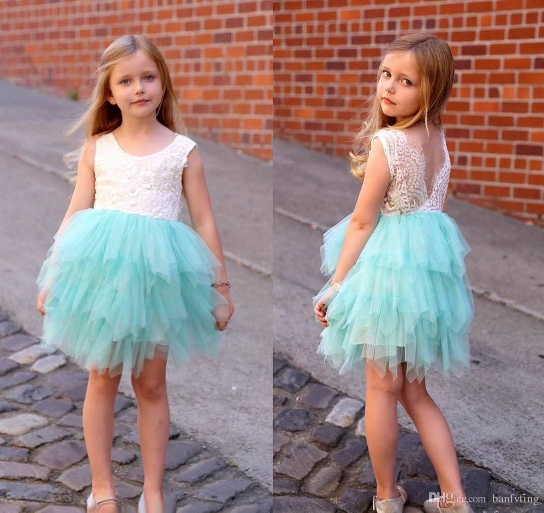 Banfvting Teens Formal Dress with Sash Beaded Lace Graduation Gown Kids
