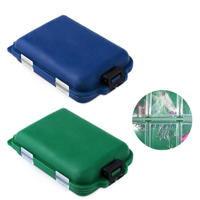 10 Compartments Fishing Tackle Box Lure Spoon Hook Rig Bait Plastic Storage Case