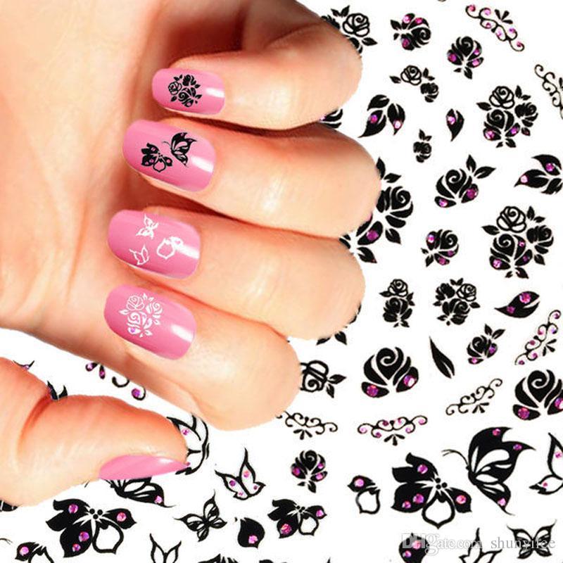 Nail Plates +1 Stamper + 1 Scraper Set Nail Art Stamping Template ...