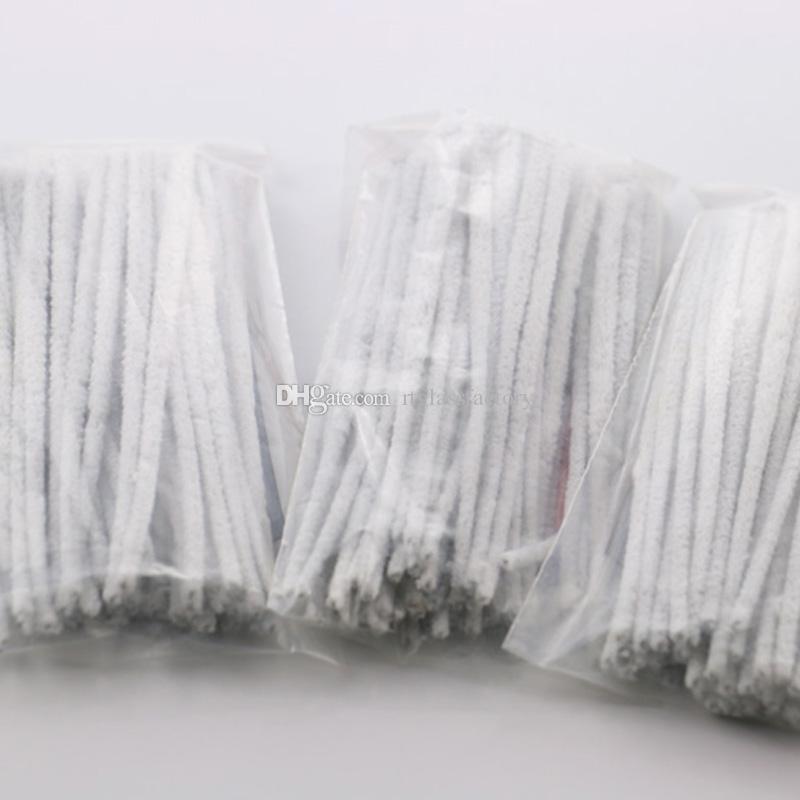Cam Boru Temizleyici Fırça Kullanımı Kolay Boru Temizleme Aracı Aksesuar 50 adet / torba temiz pamuk kolay ücretsiz nakliye temizle