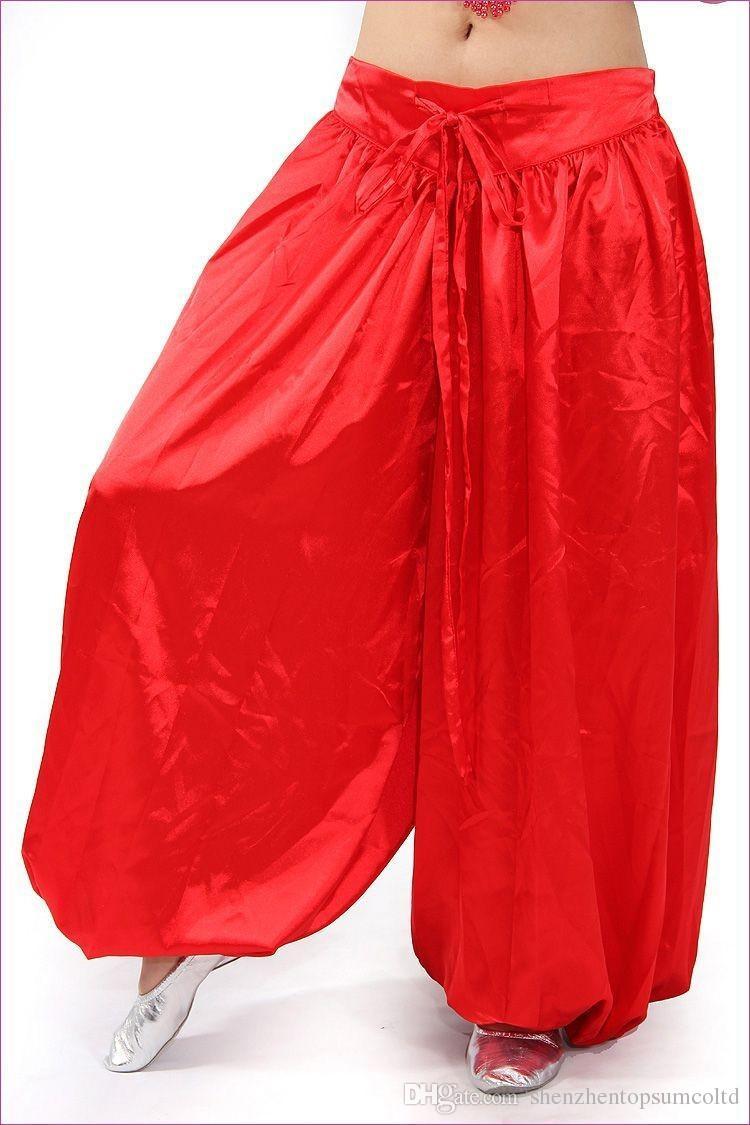Sarouel de danse du ventre pantalon de costume de danse de style tribal Bollywood porter