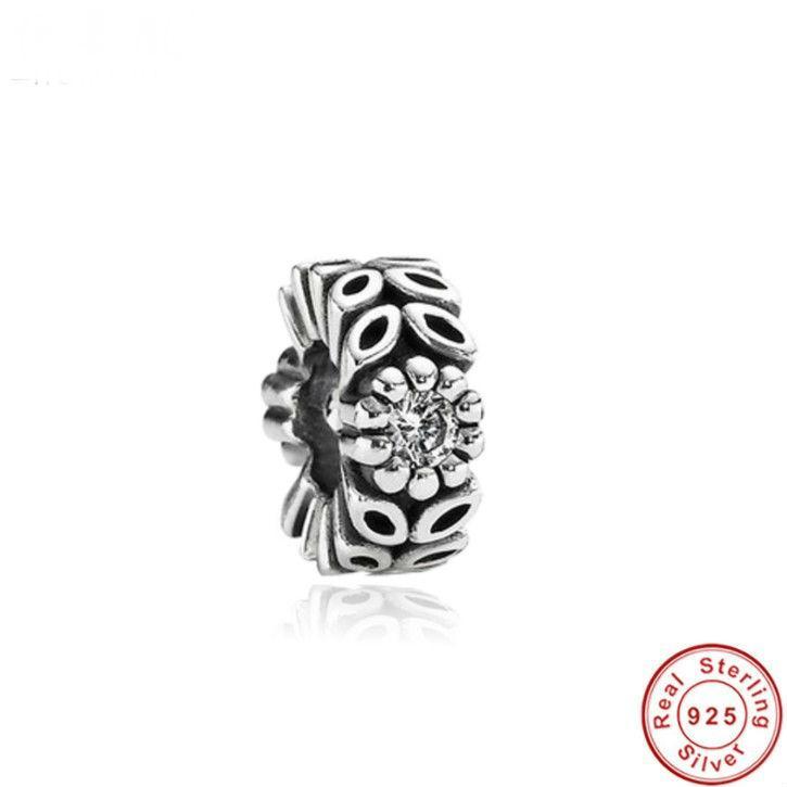 2017 venta caliente Fit Original Pandora pulsera de aislamiento perlas de la serie de la joyería cuentas de plata esterlina ligeramente incrustaciones