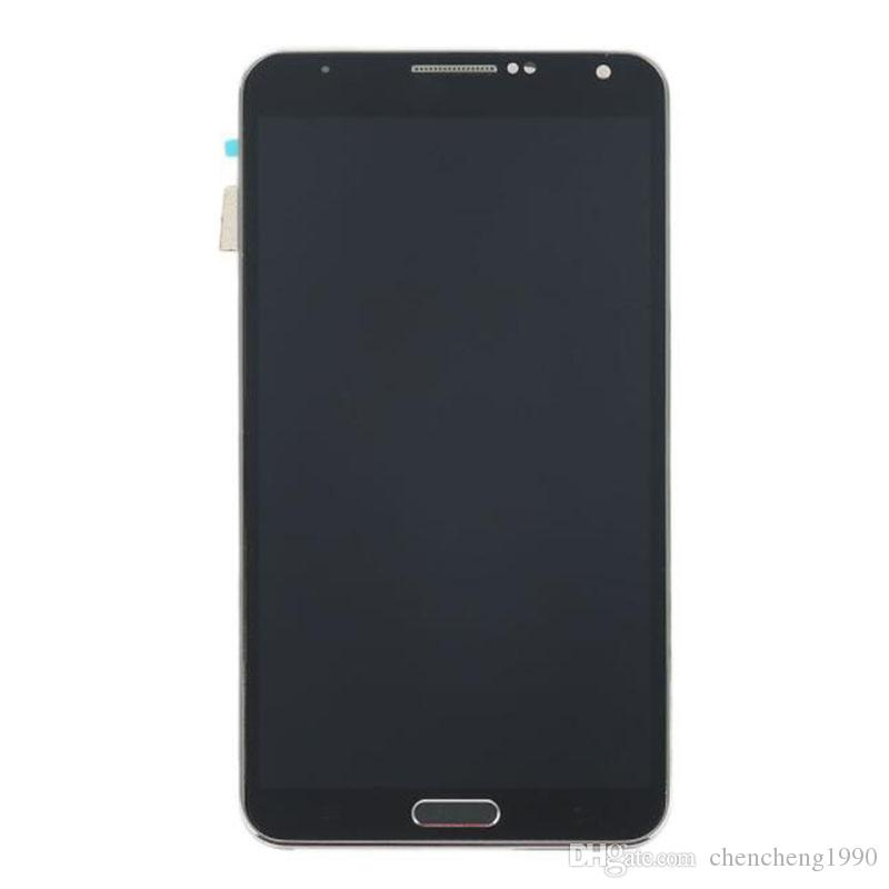 For Samsung Galaxy NOTE 3 III N9005 LCD Screen Digitizer + New Frame Full Set Replacement Parts