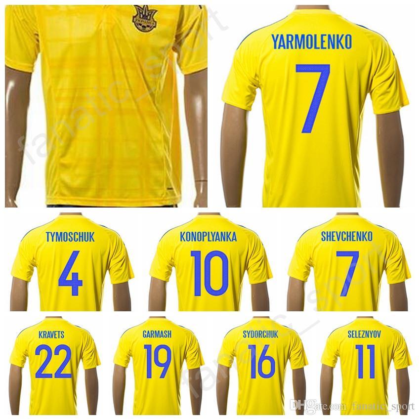 2020 Ukraine Soccer Jersey 2017 2018 Custom 22 Kravets Football Shirt 20 Rakitskiy 21 Pylyavskyi 19 Garmash 18 Rybalka 17 Fedetskiy 15 Budkivskiy From Fanatic Sport 14 27 Dhgate Com
