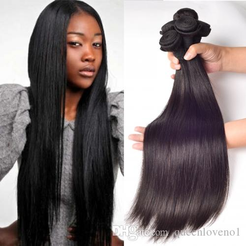 Peruvian Straight Hair Weaves Unprocessed Human Virgin Hair Weaves Remy Human Hair Extensions Dyeable 3bundles/lot No Shedding
