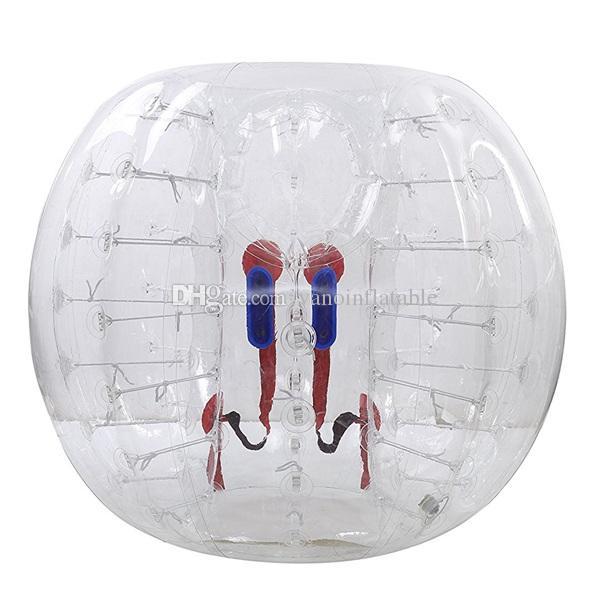 Menschlicher Blasen-Ball trägt Fußball-aufblasbare Hamster-Bälle für Verkauf Qualität gesicherter 3ft 4ft 5ft 6ft freies Verschiffen zur Schau
