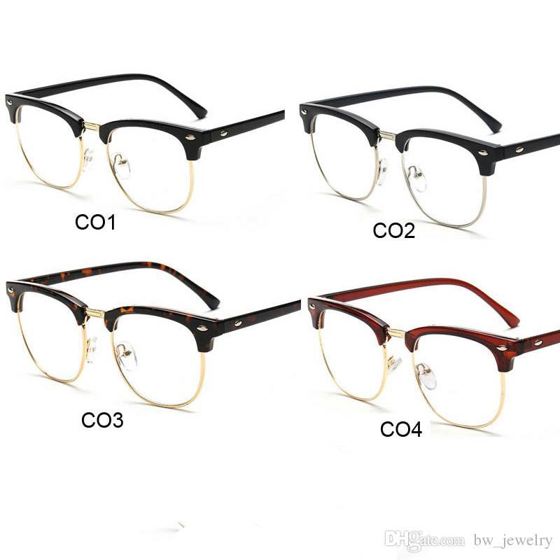 Großhandel Frauen Platz Brillen Rahmen Optische Brillenfassungen ...