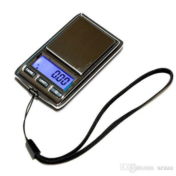 100pcsgenuine kleine Mini-Taschenschmucksalkale, teilen den Wert von 0,01 g, elektronische Palme gesagt. Freies Verschiffen DHL