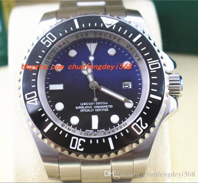 Mode-Luxusuhren-hohe Qualität blaues James Cameron automatische 44mm Ref.116660 Mens-Uhr-Männer Uhr-Armbanduhr