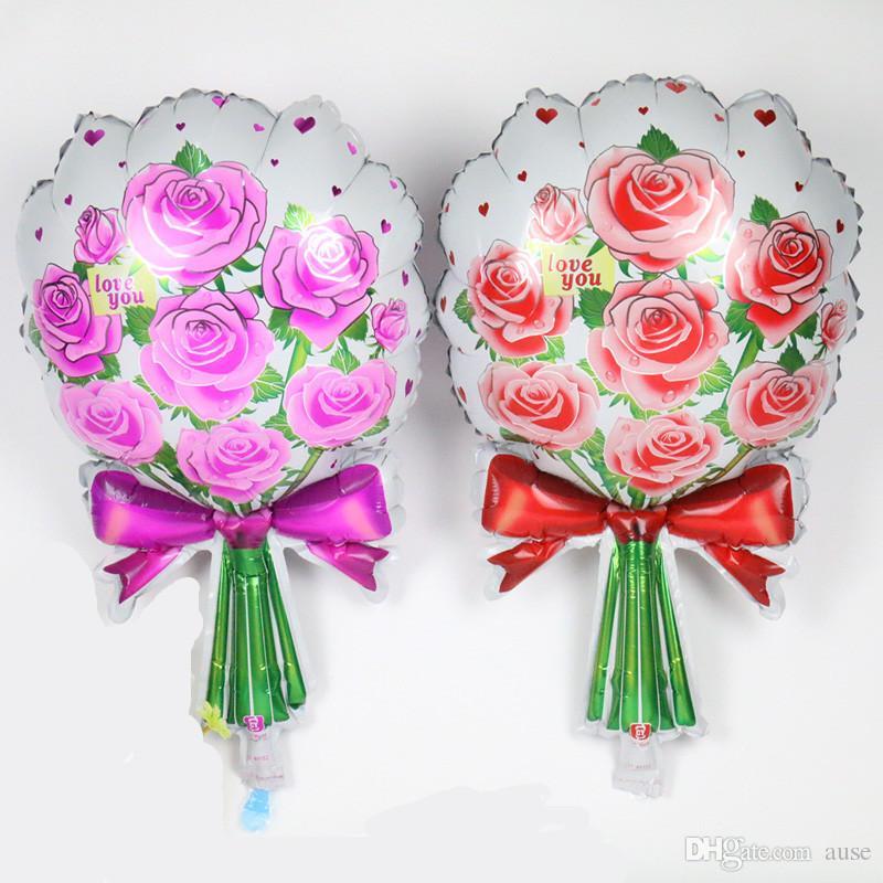 Ücretsiz Nakliye Sıcak. Yeni güller balon doğum günü partisi. Oyuncak çizgi film. Düğün folyo balonları toptan evlenmek
