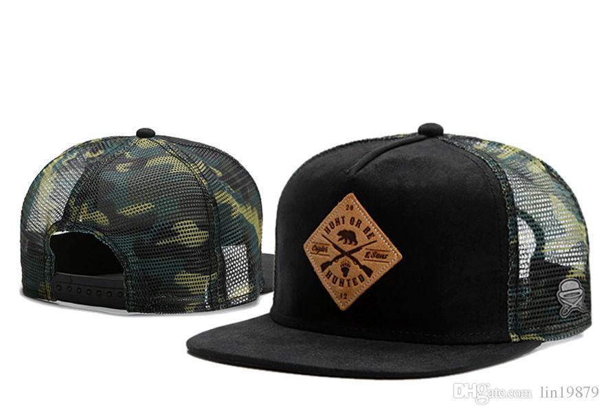 Cayler Sons HUHT OU BE HUHTED maille camo casquettes de baseball Casual Sports de plein air casquette snapback chapeaux casquette pour hommes femmes en gros