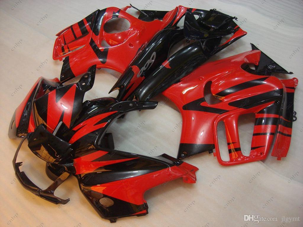 Fairing Kits for Honda Cbr600 97 98 Bodywork CBR 600 F3 1998 Red Black Plastic Fairings CBR600 F3 1996 1995 - 1998