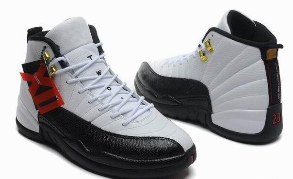 Beyaz Siyah 12 s 12 Basketbol Ayakkabıları Mens OVO Getirdi kırmızı Siyah Bej 2003 Sınıf Açık Spor Ayakkabı Sneakers Adam Için Kutu