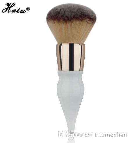 HaLu Power brosse Super douce Gourde ronde Maquillage Beauté pinceaux outil cosmétique Big Brush Blush Grand Cosmétiques Pinceaux En Aluminium