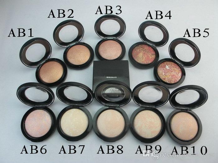 NOUVEAU maquillage chaud de haute qualité Mineralize Skinfinish poudre de Poudres 10g livraison gratuite