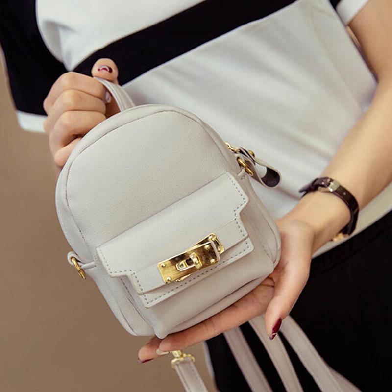 도매 - LEFTSIDE 2016 귀여운 한국어 작은 새 여자 숄더 가방 품질 PU 가죽 가방 미니 배낭 crossbody 가방 여성용 배낭
