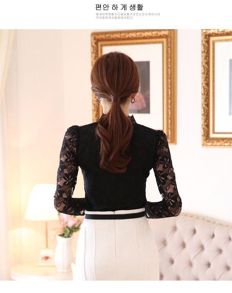 lace blouse 525