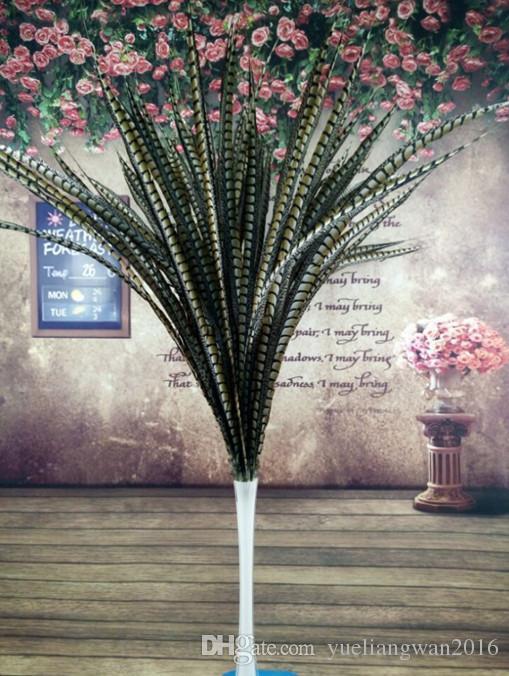 Toptan Güzel Orijinal 50 adet doğal Lady Amherst Sülün tüyler 36-40 inç / 90-100 cm Düğün centerpieces için (Ücretsiz kargo)
