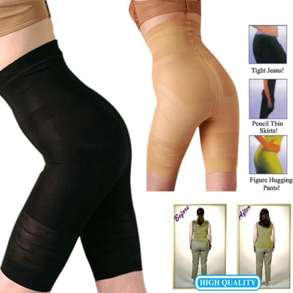 Wholesale- Hot sale Sexy Women Beauty Slimming Shapewear Fat Burning Slim Shape Bodysuit Pants S-3XL