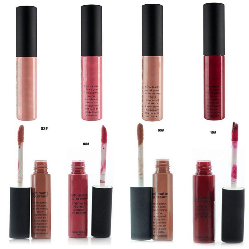 1 pcs novos Lips Marca nus Wheaten Nude umidade Cuidados Nutrir Lip Gloss 12 lindo Cores