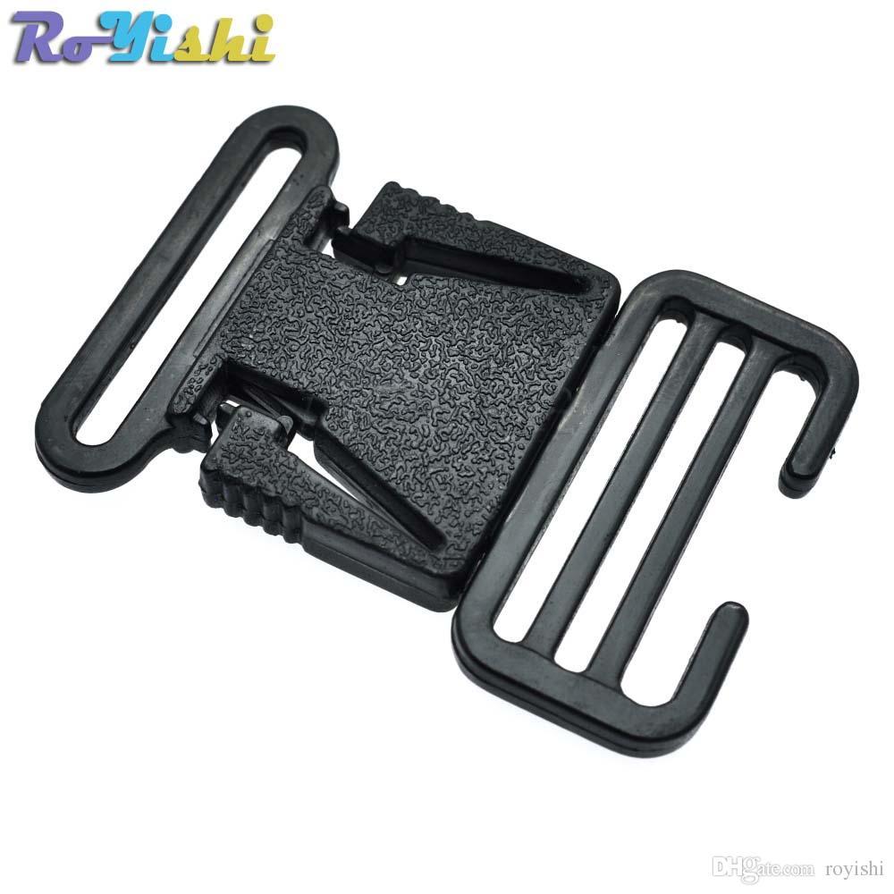 """20pcs / lot 1-1 / 4 """"(31mm) حزام الإفراج الجانب سامسونج بوكلي للأشرطة حقيبة الظهر"""