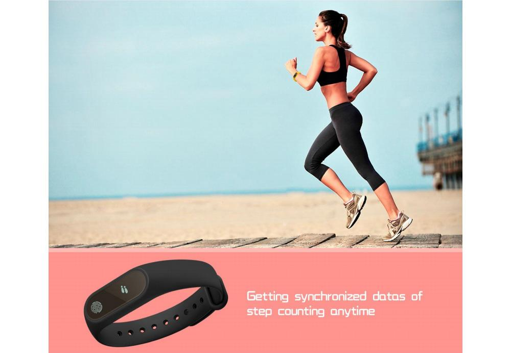 Smart Band Wristband M2 Waterproof Heart Rate Bracelet Smartband Bluetooth  Fitness Tracker Oled Touchpad Activity Tracker Wristbands Activity Trackers