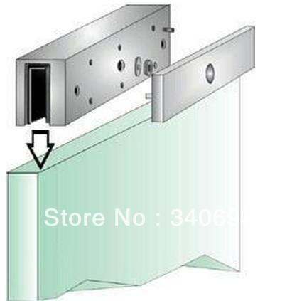 2018 Wholesale New Aluminum U Bracket For 280kg Magnetic Locks U