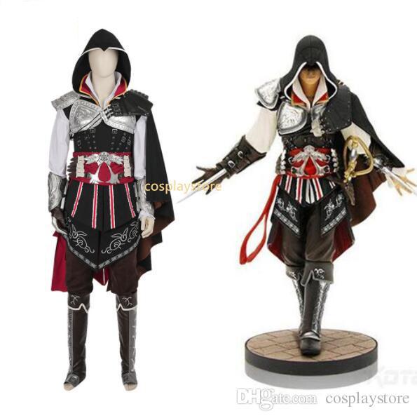 Assassins Creed Costume Ezio Auditore Cosplay Costume For