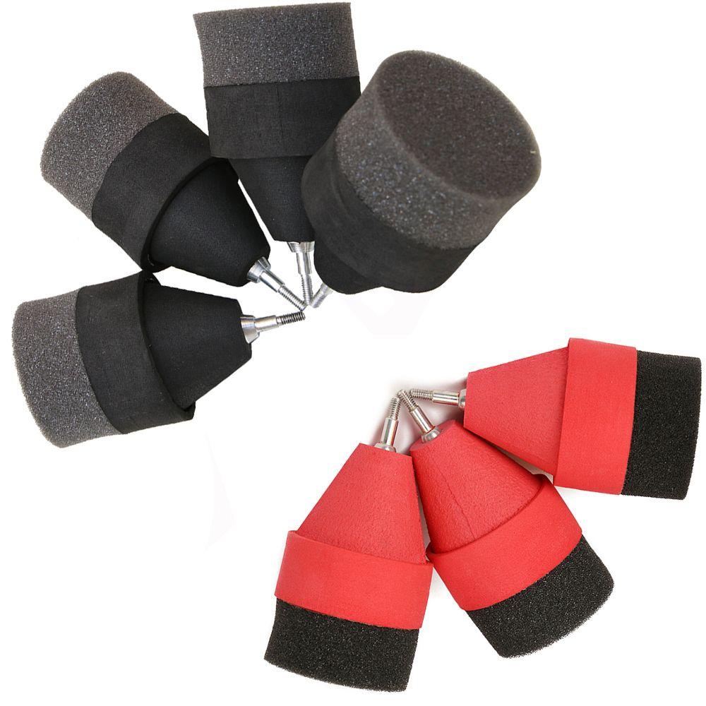 Negro / rojo esponja de esponja de caza de punta de flecha Juego de práctica extremidades Broadhead para Archery Sports Club CS Shooting