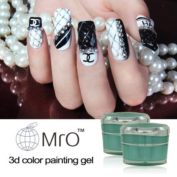 Wholesale Mro 3d Color Gel Paint Nail Polish Set Uv Gel Nail Polish ...