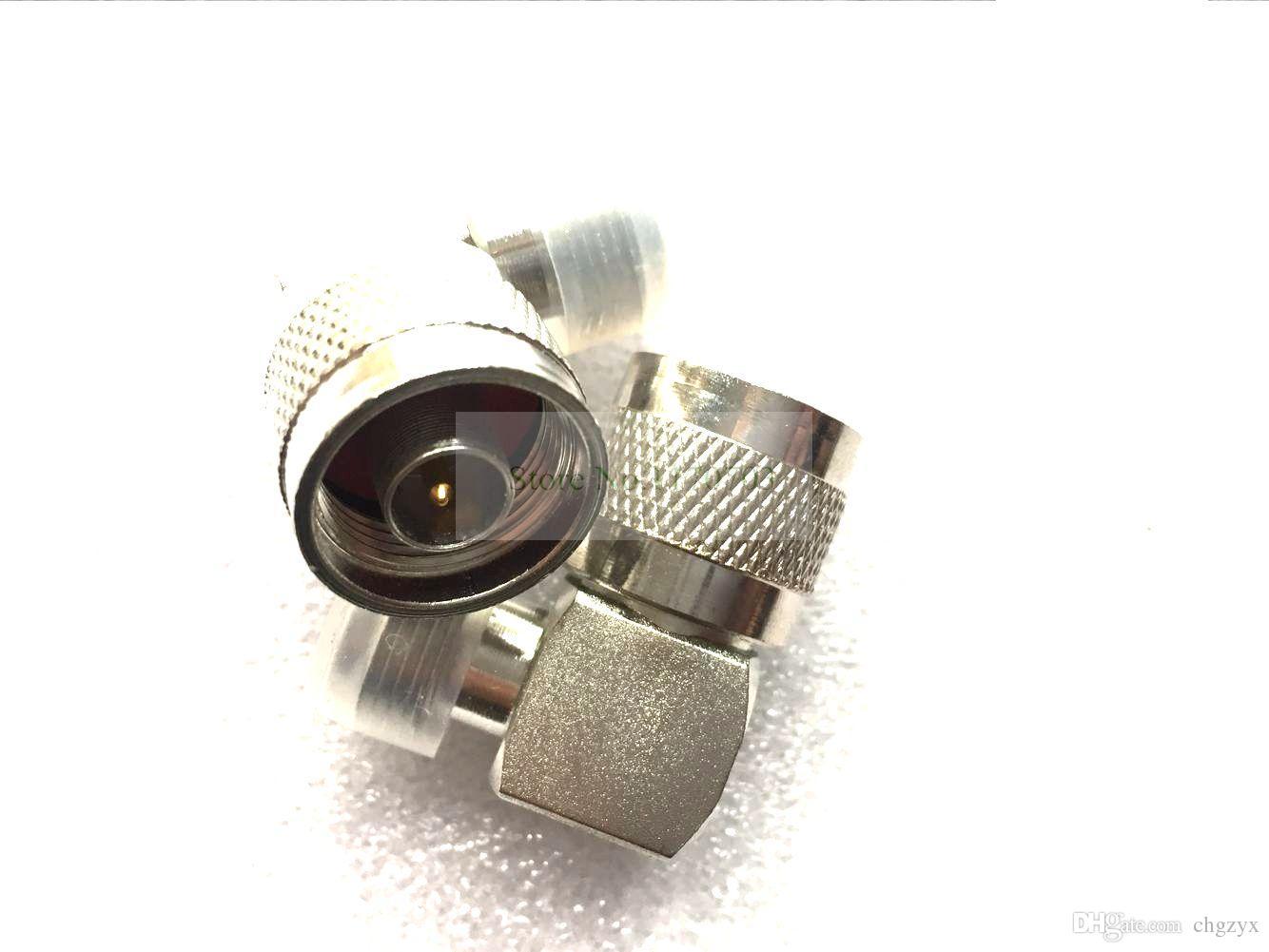 50 pzas N Macho a 90 Grados N Conector Hembra ángulo recto 90 L Tipo Conector de Adaptador de RF