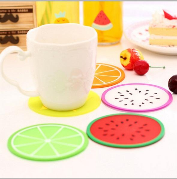 2019 Wholesale Hot Sale Fashing Coaster L Fruit Drink Wine Glasses Beer  Bottle Cup Mat Hot Cold Drinks Table Mat Placemat From Likejason, &Price
