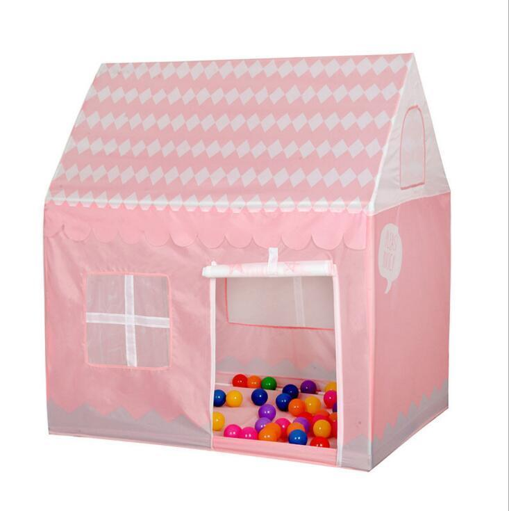 Girl Dream House Pink Toys Tent New Play House Girls Ball Pit Pool Kid Cute Castle  sc 1 st  DHgate.com & Girl Dream House Pink Toys Tent New Play House Girls Ball Pit Pool ...
