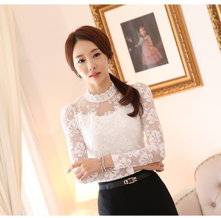 lace blouse 517