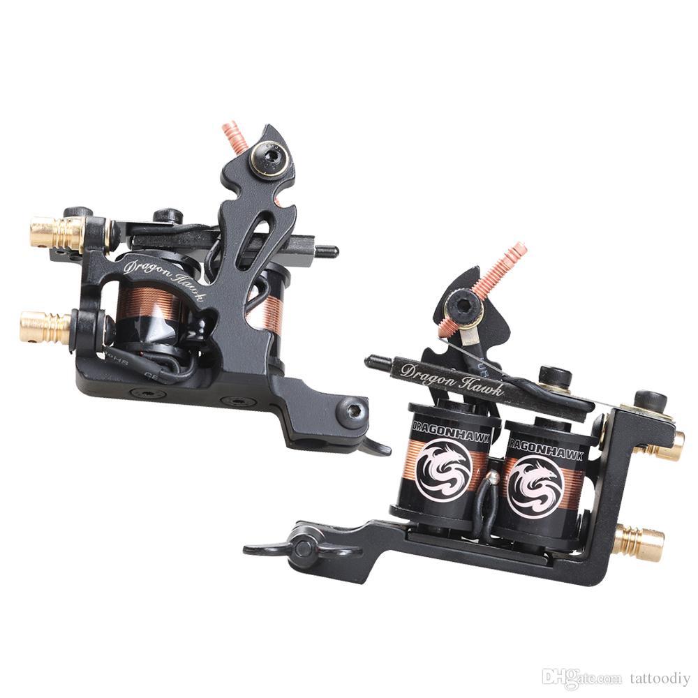 Novo estilo legal design tatuagem bobina forro da máquina arma preço de Atacado cor preta profissional bom desempenho melhor venda