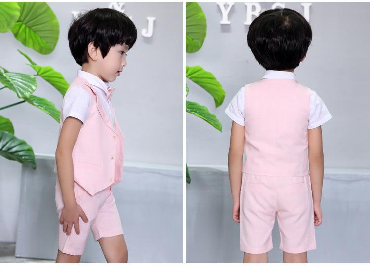 a67fc92326d0 Boy chaleco tres conjuntos para boda, fiesta. La calidad de la ropa es muy  buena, las concesiones de precios. Adecuado para la edad: de 3 a 8 años.