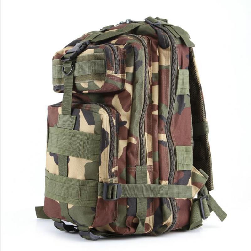 Camping Travel Camuflaje Mochilas Para Hombres Moda Ejército Hombres Diseñador Mochilas Nuevo Deportes al aire libre Militar Mochila bolsas Envío gratis