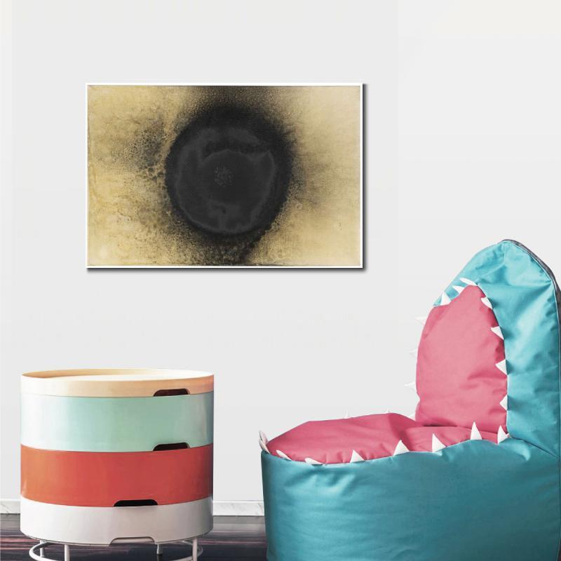Schwarze Sonne Abstract