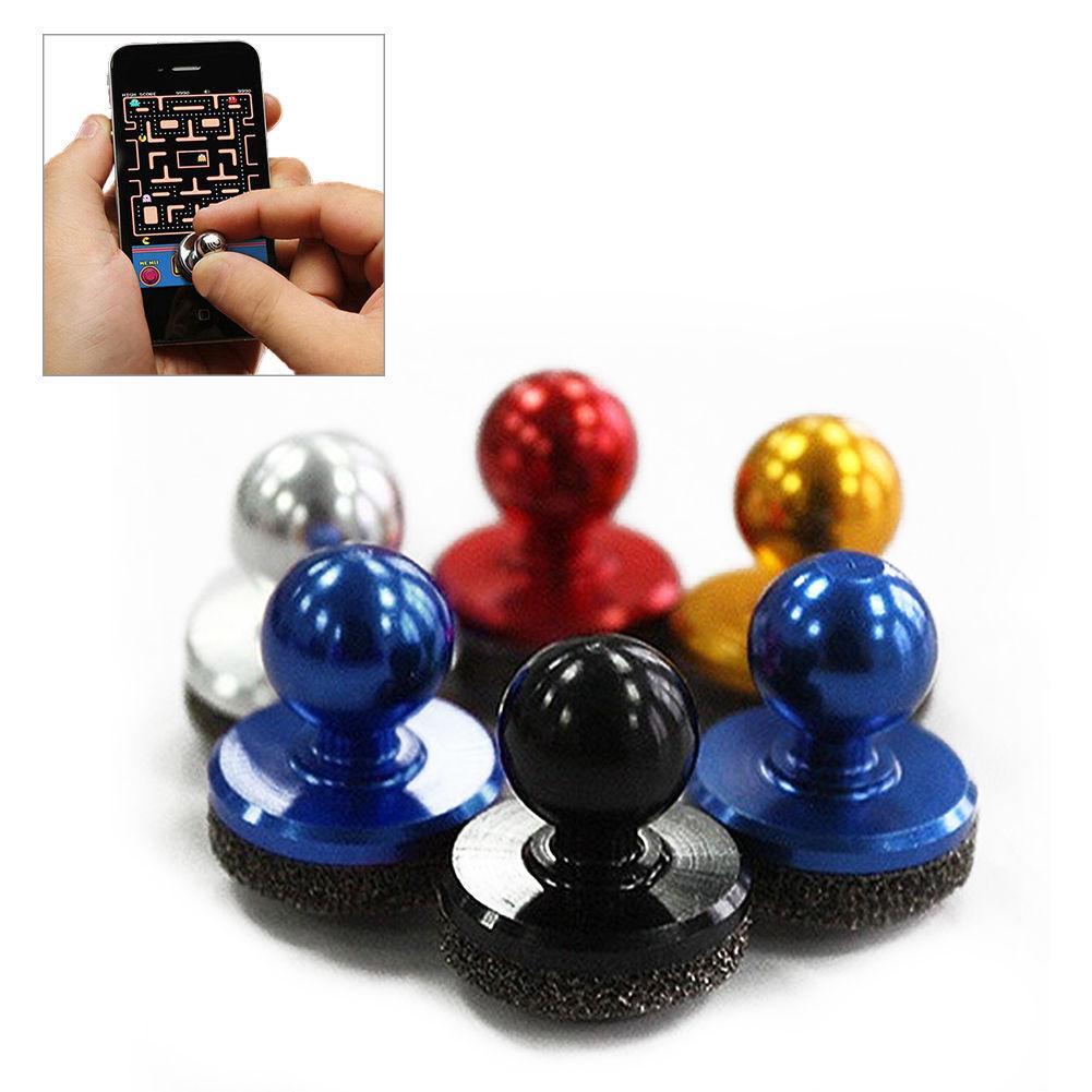 Joypad nero della leva di comando del gioco del bastone di piccola dimensione per il mini joystick di vendita del telefono cellulare del touch screen