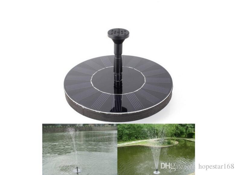 Mini Solar Power Fountain Pool Piscina Pompa per acqua Brushless Impianti a risparmio energetico Kit di annaffiatura con pannello solare per Bird Bath Garden Pond