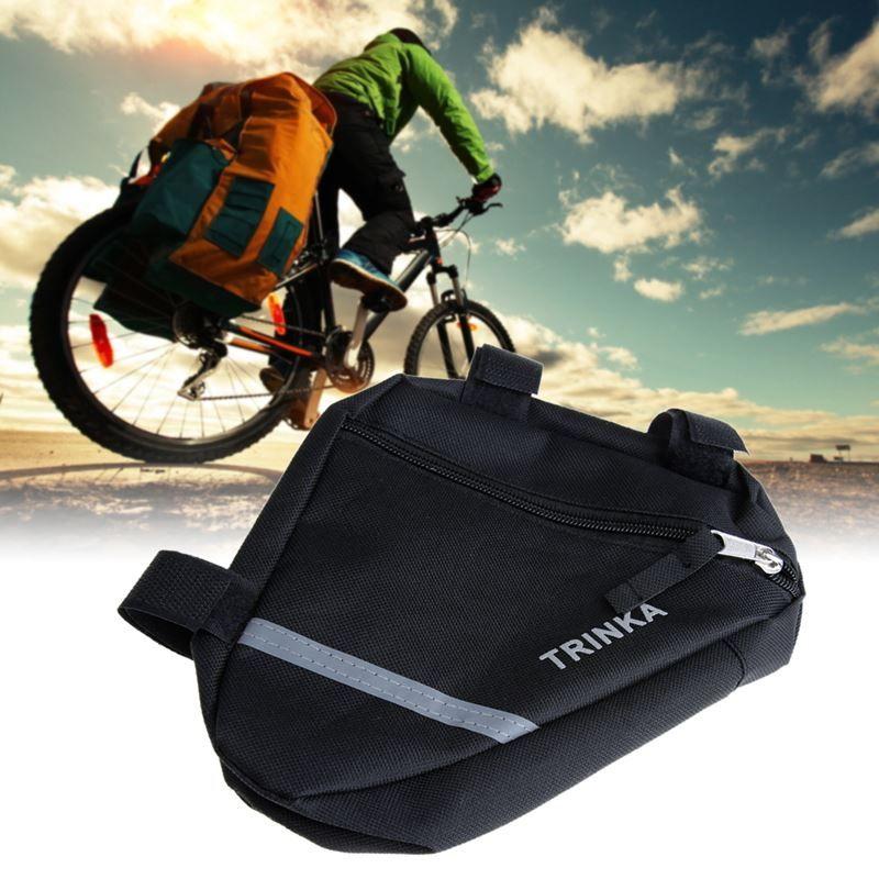 방수 삼각형 가방 자전거 자전거 자전거 앞 튜브 프레임 주머니 안장 가방 자전거 액세서리 Panniers