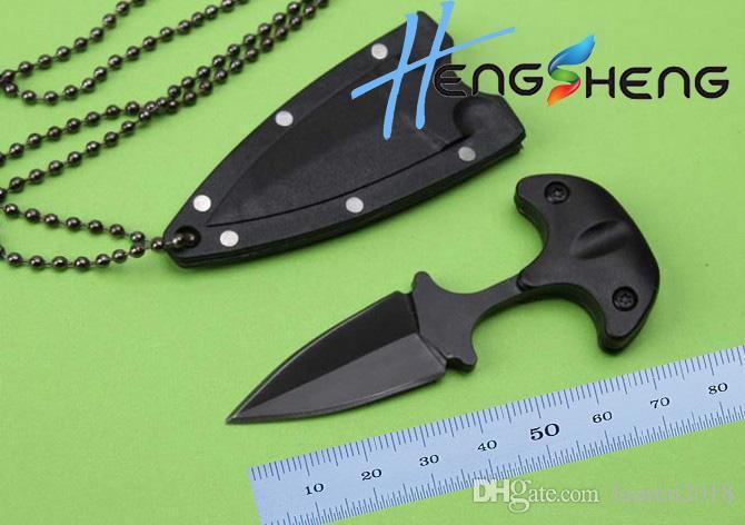 حار بيع مخلب الطي سكاكين puching سكين ثابت بليد سكين صيد سكين أدوات التخييم أدوات 440c بليد abs غمد