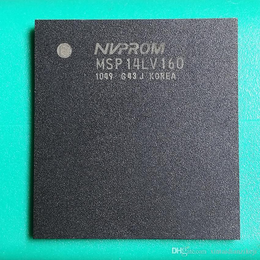 paquete de aseguramiento de la calidad de chips genuino MSP14LV160 QFN viruta nvprom en la máquina