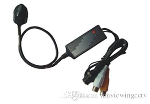 420TVL COLD CCTV Snake CCD Minikamera, 16mm Ultra Mini Pinhole Dolda CCD-kamera med ljud