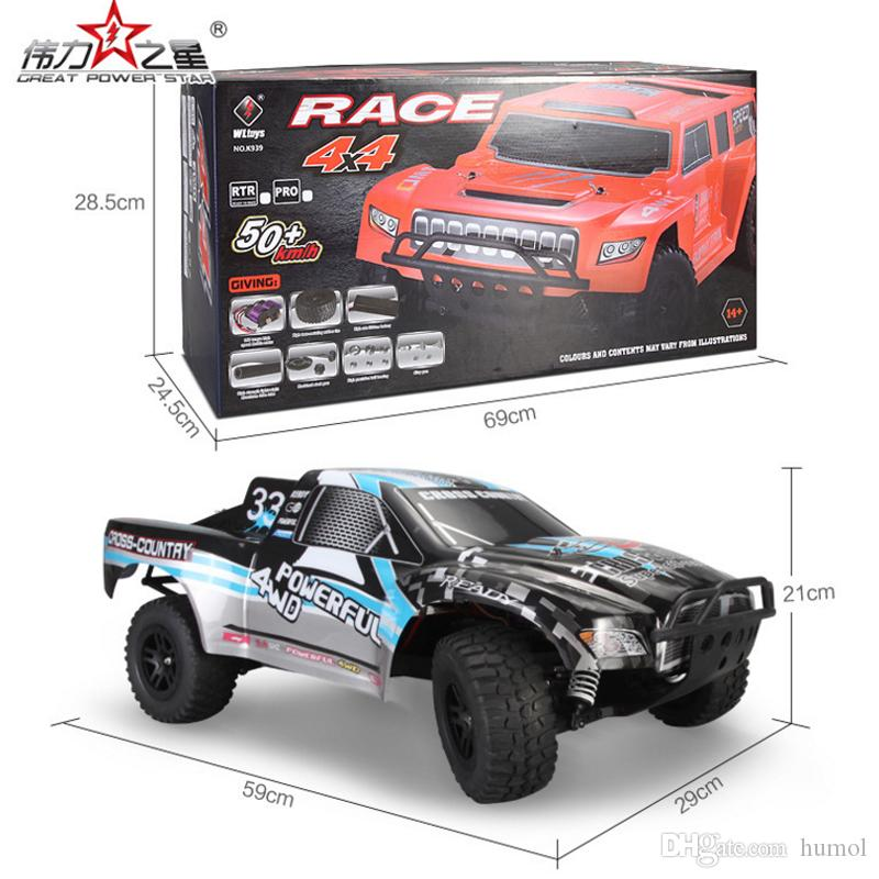RC Racing Car WLtoys K939 1/10 4WD 2.4G Electric RC Short Course RTR High-Speed Remote Control Car Toys Truck Buggy